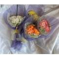 Букет  из 3 хризантем